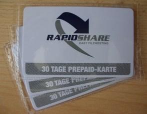 rapidshare prepaid