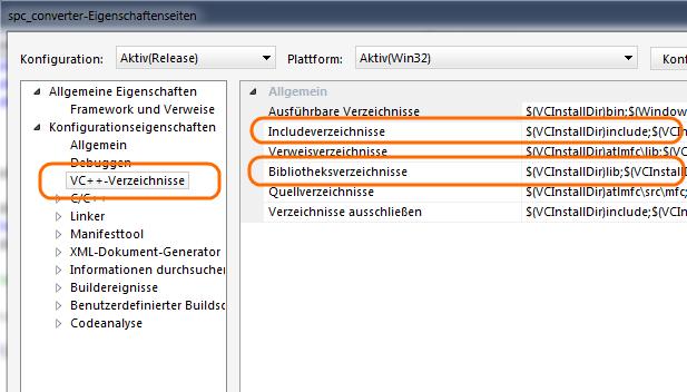 VS: DirectX einbinden 3