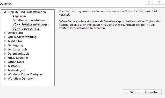 VS: DirectX einbinden