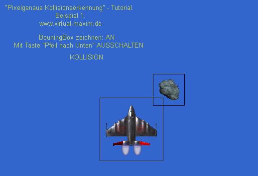 Bounding Box Kollision Beispiel 1