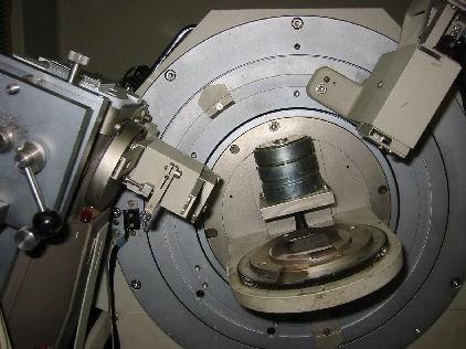 Siemens D500 - Diffraktometer