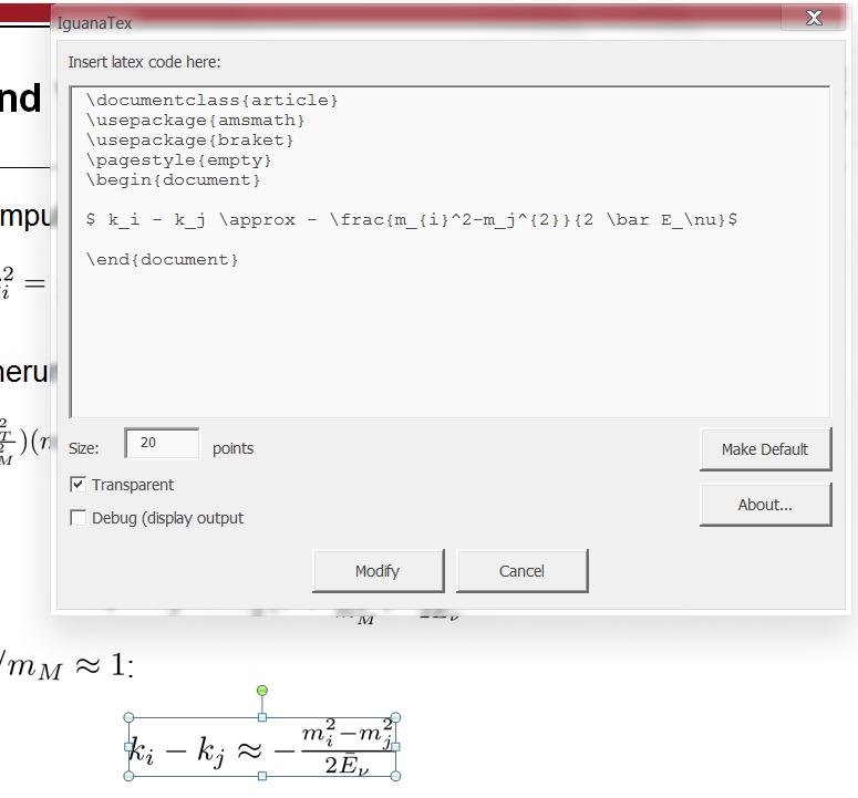 Virtual Maxim Latex Code In Powerpoint Darstellen